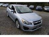 2012 Ice Silver Metallic Subaru Impreza 2.0i Premium 4 Door #129723558