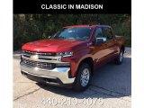 2019 Cajun Red Tintcoat Chevrolet Silverado 1500 LT Crew Cab 4WD #129723778