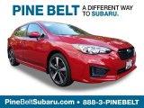 2019 Lithium Red Pearl Subaru Impreza 2.0i Sport 5-Door #129723635