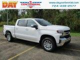 2019 Summit White Chevrolet Silverado 1500 LT Crew Cab 4WD #129723672