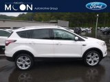 2018 White Platinum Ford Escape Titanium 4WD #129747193