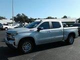 2019 Silver Ice Metallic Chevrolet Silverado 1500 LT Crew Cab 4WD #129747334