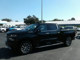 2019 Black Chevrolet Silverado 1500 High Country Crew Cab 4WD #129747333