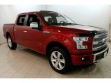 2015 Ruby Red Metallic Ford F150 Platinum SuperCrew 4x4 #129747319