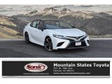 2019 Wind Chill Pearl Toyota Camry XSE #129747046