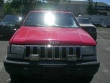 1995 Flame Red Jeep Grand Cherokee SE 4x4 #12956387