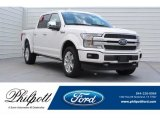 2018 White Platinum Ford F150 Platinum SuperCrew 4x4 #129747216