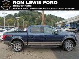 2018 Blue Jeans Ford F150 Lariat SuperCrew 4x4 #129769095