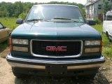 1995 Forest Green Metallic GMC Sierra 1500 SLT Extended Cab 4x4 #12956456