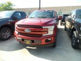 2018 Ruby Red Ford F150 Lariat SuperCrew 4x4 #129797172