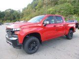 2019 Red Hot Chevrolet Silverado 1500 LT Z71 Trail Boss Crew Cab 4WD #129797029