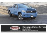 2019 Cavalry Blue Toyota Tundra TRD Sport Double Cab 4x4 #129796906