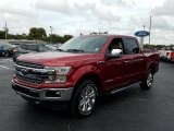2018 Ruby Red Ford F150 Lariat SuperCrew 4x4 #129797204