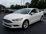 2018 White Platinum Ford Fusion SE #129797203