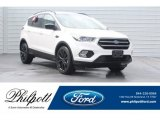 2018 White Platinum Ford Escape SEL #129818051
