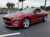 2018 Ruby Red Ford Mustang EcoBoost Fastback #129818164