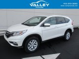2015 White Diamond Pearl Honda CR-V EX #129817917