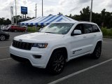 2017 Bright White Jeep Grand Cherokee Limited 75th Annivesary Edition 4x4 #129818196