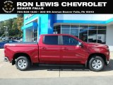 2019 Cajun Red Tintcoat Chevrolet Silverado 1500 LT Crew Cab 4WD #129817992