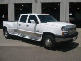 2006 Summit White Chevrolet Silverado 3500 LT Crew Cab Dually #12945786