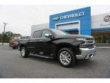 2019 Black Chevrolet Silverado 1500 LTZ Crew Cab 4WD #129818068