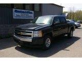 2007 Black Chevrolet Silverado 1500 LT Crew Cab 4x4 #12958129