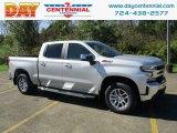 2019 Silver Ice Metallic Chevrolet Silverado 1500 LT Crew Cab 4WD #129837556