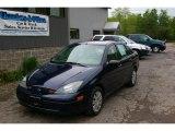 Twilight Blue Metallic Ford Focus in 2004