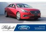 2017 Scarlet Red Hyundai Sonata SE #129837614