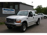 2000 Oxford White Ford F250 Super Duty XLT Extended Cab 4x4 #12958197