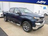 2019 Northsky Blue Metallic Chevrolet Silverado 1500 LT Crew Cab 4WD #129876927