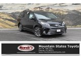 2019 Midnight Black Metallic Toyota Sienna Limited AWD #129876599