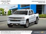 2018 Summit White Chevrolet Silverado 1500 LTZ Crew Cab 4x4 #129898827