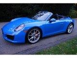 2017 Porsche 911 Paint to Sample Voodoo Blue
