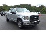 2016 Ingot Silver Ford F150 XL SuperCab 4x4 #129910521