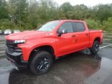 2019 Red Hot Chevrolet Silverado 1500 LT Z71 Trail Boss Crew Cab 4WD #129910411
