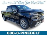 2019 Black Chevrolet Silverado 1500 High Country Crew Cab 4WD #129925457