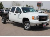 2008 GMC Sierra 2500HD Crew Cab 4x4 Chassis Data, Info and Specs