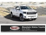 2019 Super White Toyota Tundra TRD Sport Double Cab 4x4 #129946713