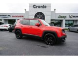 2017 Colorado Red Jeep Renegade Latitude #129946849