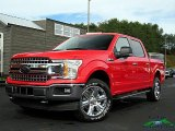 2018 Race Red Ford F150 XLT SuperCrew 4x4 #129946650