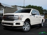 2018 White Platinum Ford F150 Platinum SuperCrew 4x4 #129946649
