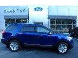 2013 Deep Impact Blue Metallic Ford Explorer XLT 4WD #129968798