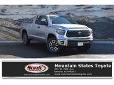 2018 Silver Sky Metallic Toyota Tundra SR5 Double Cab 4x4 #129968584
