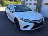 2019 Wind Chill Pearl Toyota Camry XSE #129968764