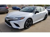 2019 Wind Chill Pearl Toyota Camry XSE #129995381