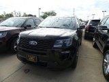 2019 Agate Black Ford Explorer Sport 4WD #129995403