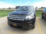 2019 Agate Black Ford Explorer FWD #129995399