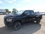 2019 Diamond Black Crystal Pearl Ram 1500 Rebel Quad Cab 4x4 #129995307