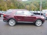 2019 Burgundy Velvet Ford Explorer Limited 4WD #130016913